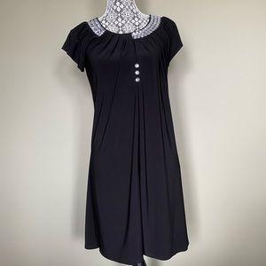 Black Bejewelled Dress